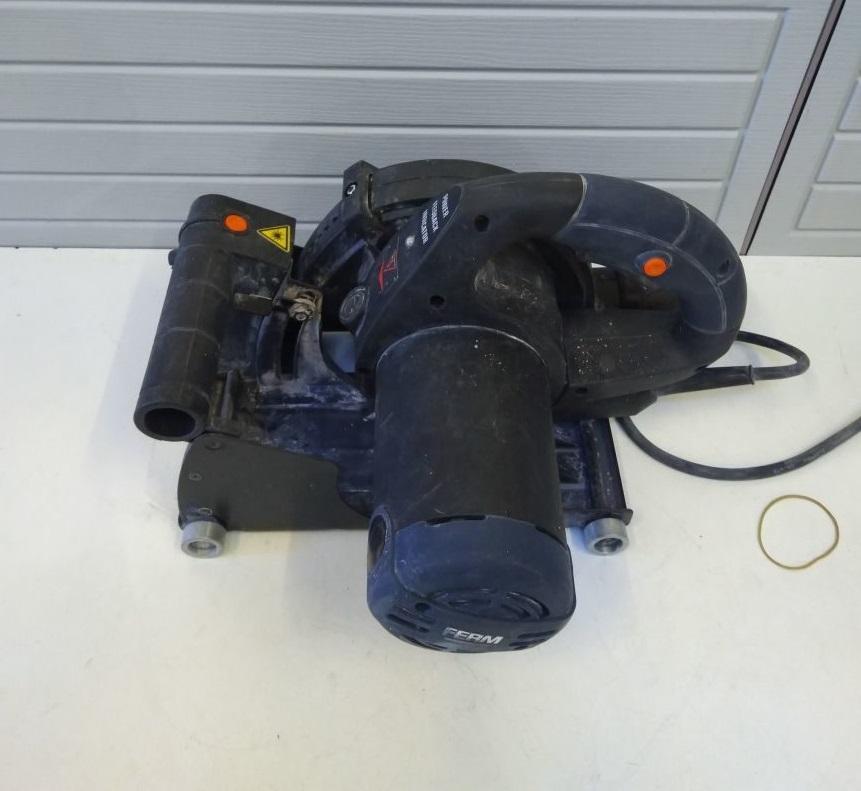 Tasche 1600 W 150 mm Rechnung Y04680 Ferm WSM1008  Elektro-Mauernutfräse inkl