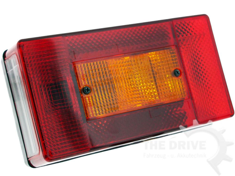The Drive Asp/öck Multipoint 2 II links mit Nebelschlussleuchte R/ücklicht R/ückleuchte inkl 10891 Leuchtmittel