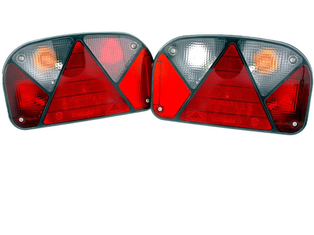 asp ck multipoint 2 ii trailer rear lights set right left rear lights rear lights ebay