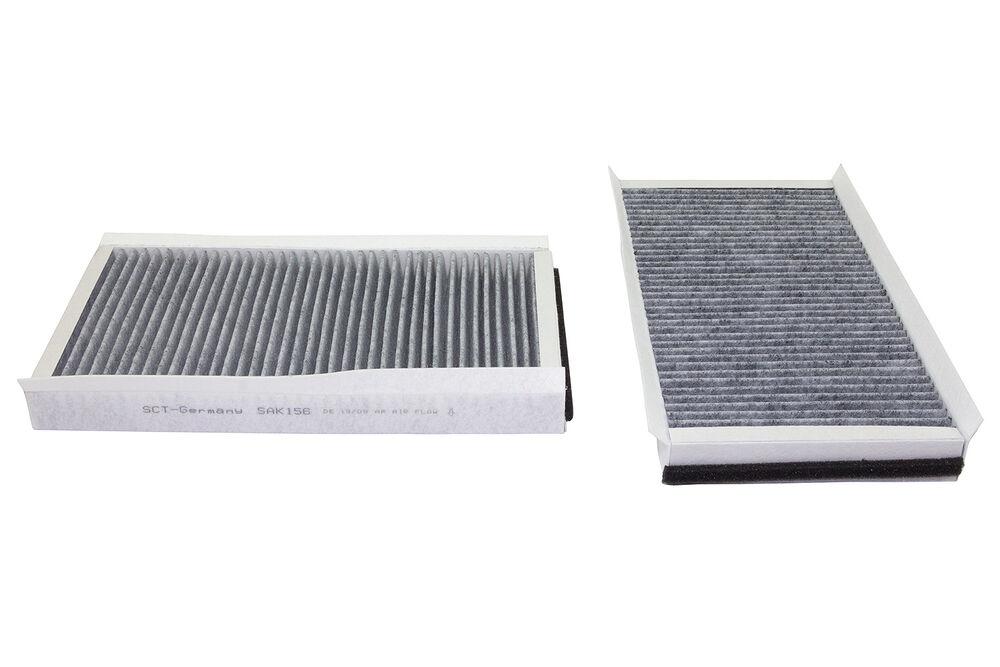 Original filtro sct espacio interior aire polen filtro interior filtro sak 127