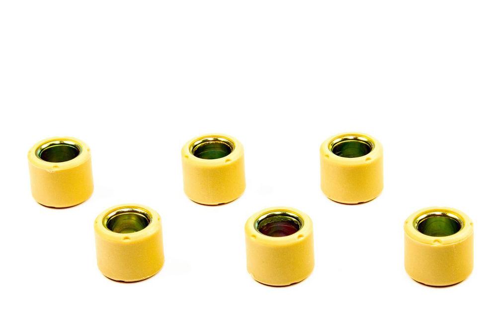 Variomatik Gewichte 5,0g 16x13mm 6 Stück für Tauris SYM Peugeot Kymco Lifan