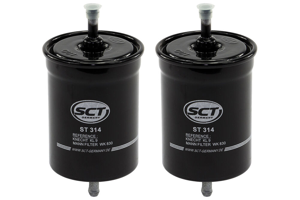 SCT-FILTER PAKET VW Polo Coupe 86C 80 1.3 Cat G40 Classic Kasten 86CF