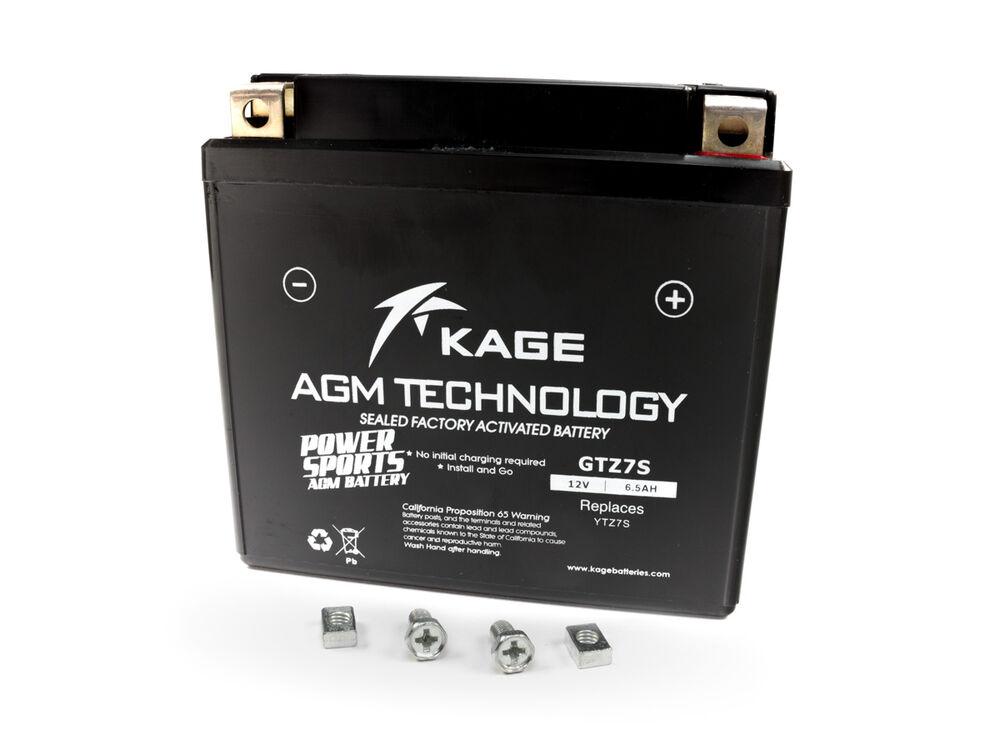 Tecno YTZ7S Gel Batterie SH 125 ANC i Mode 2014-2016