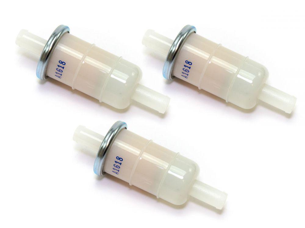 2x Kraftstofffilter Benzinfilter 11mm für Honda XRV750 RD07 NTV650 Revere RC33