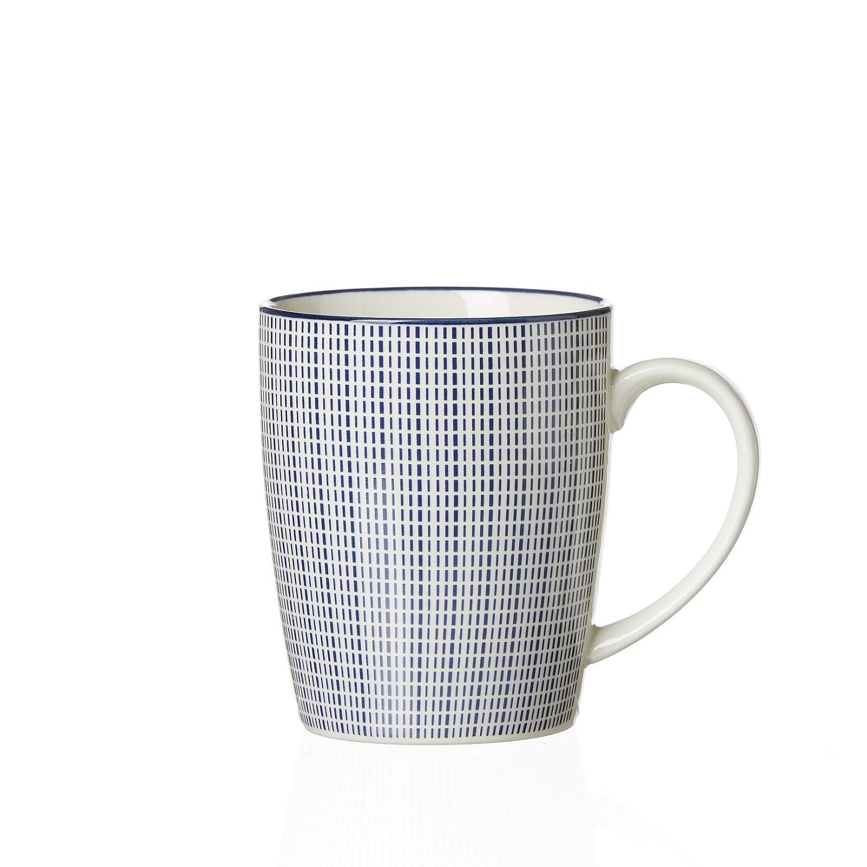 Ritzenhoff Breker Royal Makoto Kaffeebecher 350ml Blau Weiss Porzella Ebay