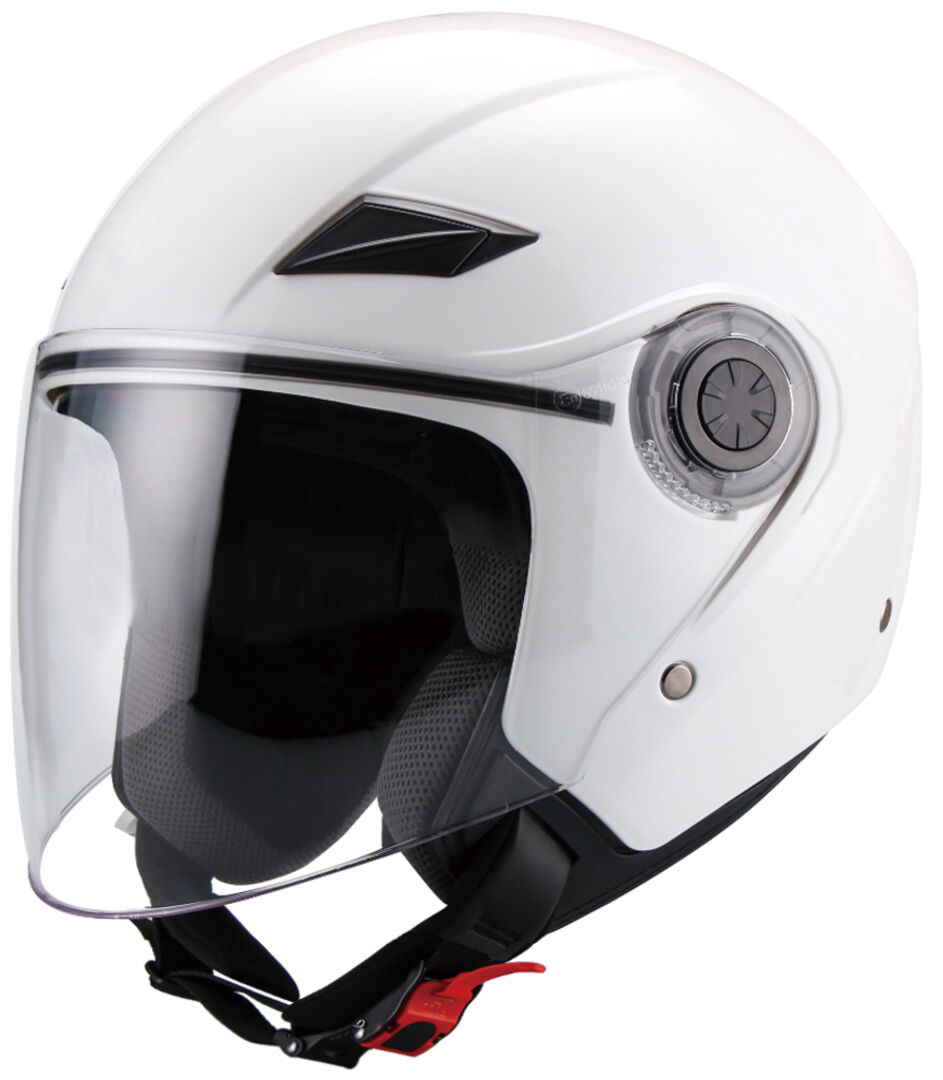Jethelm Helm Motorradhelm Rollerhelm RETRO RALLOX 723 schwarz matt Gr/ö/ße S