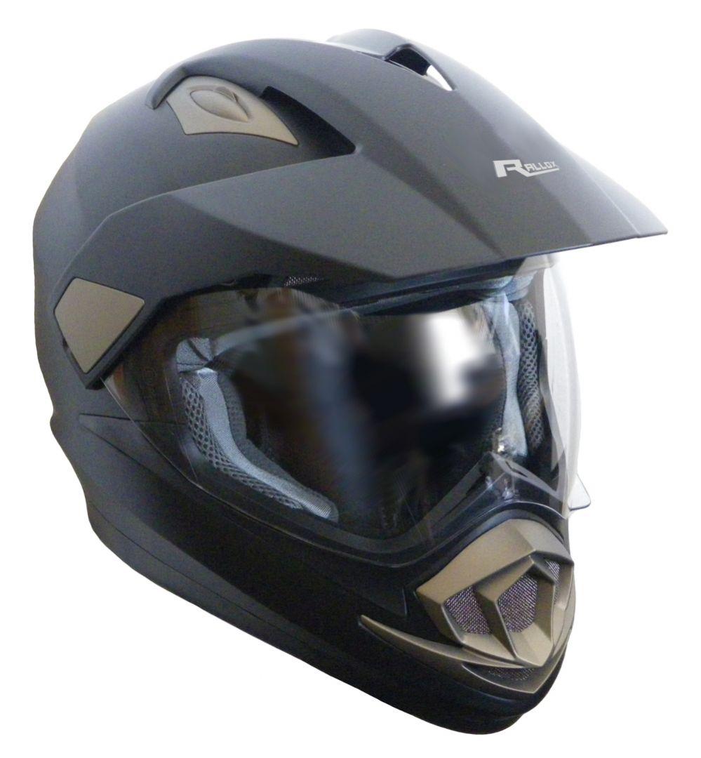 Schwarz Crosshelm Motocross Enduro Quad ATV Helm Downhill Motorradhelm S M L XL
