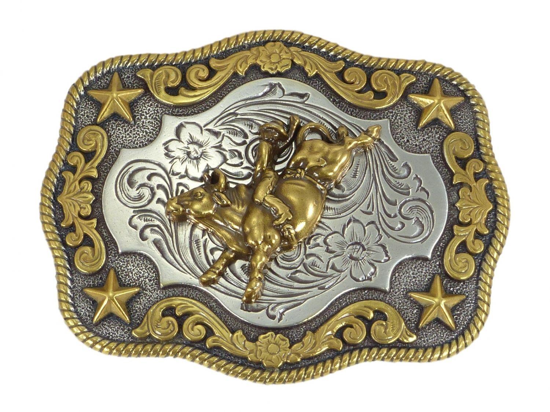 Nocona Ladies Crystal Boucle de ceinture western Buckle Cowboy usa