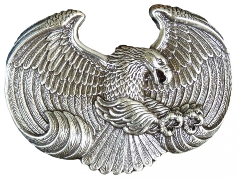 Adler Gürtelschnalle flying Western american eagle Belt Buckle native USA *198