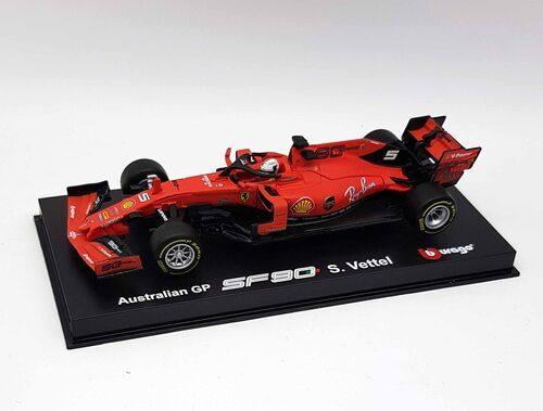 Bburago 1:18 15616807v Ferrari sf90 Scuderia Ferrari f1 2019 Sebastian bruja