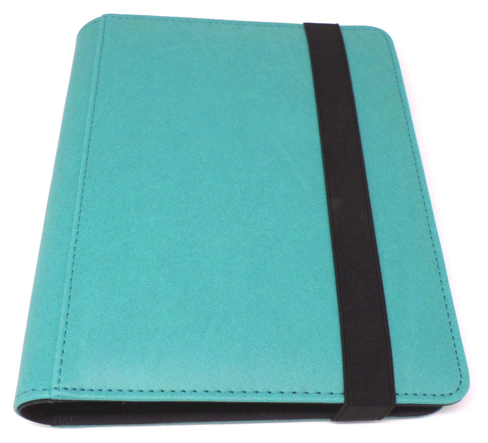 Docsmagic.de Premium Pro-Player 4-Pocket Zip-Album Dark Blue 160 Card Binder