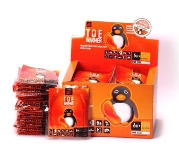"bustine scaldapiedi Mycoal Pinguino ""Only Hot"" originali japan"