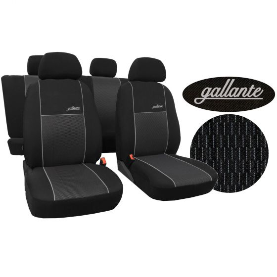 Ford Focus C-MAX 03-09 5-Sitze Schwarz Sitzbezüge Sitzbezug Schonbezüge Auto