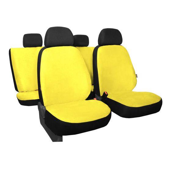 Sitzbezüge gelb vorne KOS VW PASSAT