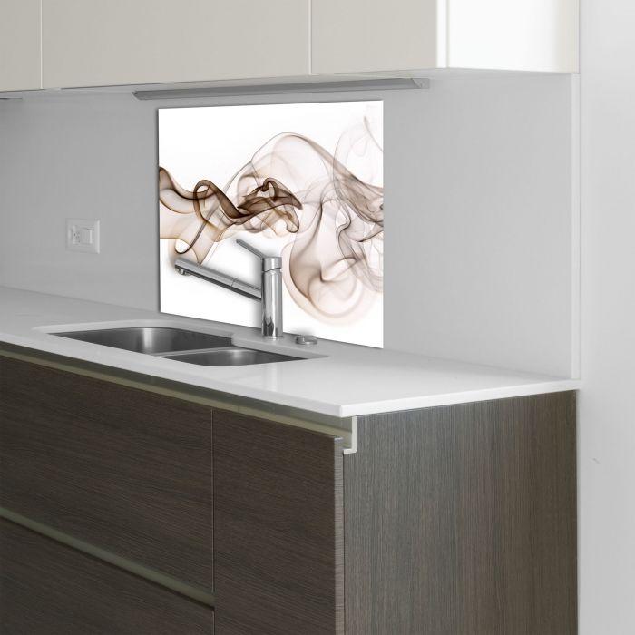 Küchenrückwand Glas 60x60 Spritzschutz Herd Spüle Fliesenschutz ...