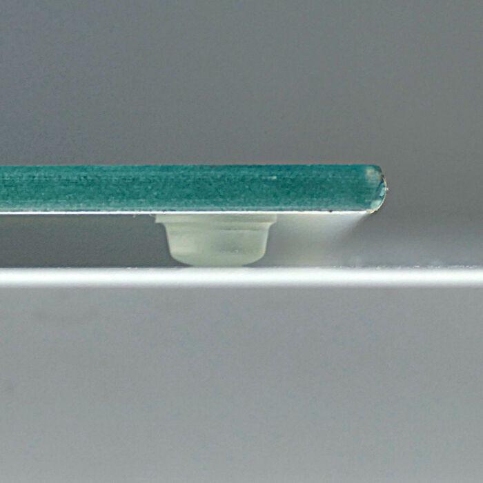 Ceranfeldabdeckung Herdabdeckplatten Blau 60x52 cm Spritzschutz Glas Herdschutz