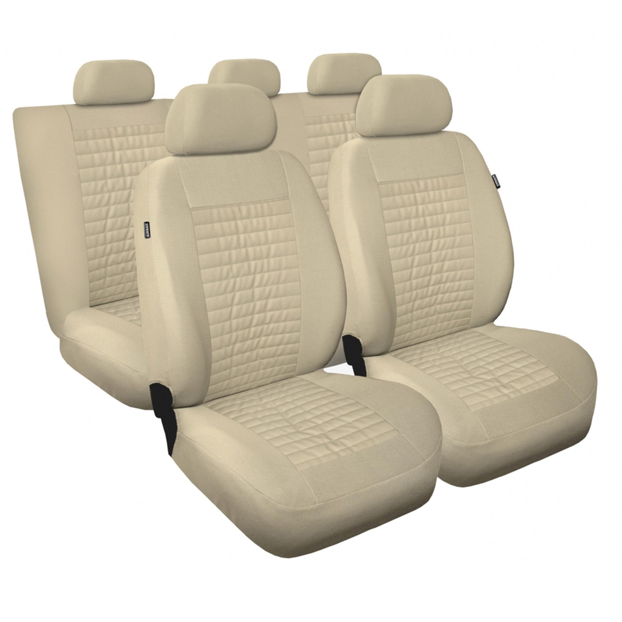 Universal Schonbezug Schonbezüge Sitzbezug Sitzbezüge RS rot AUDI+BMW