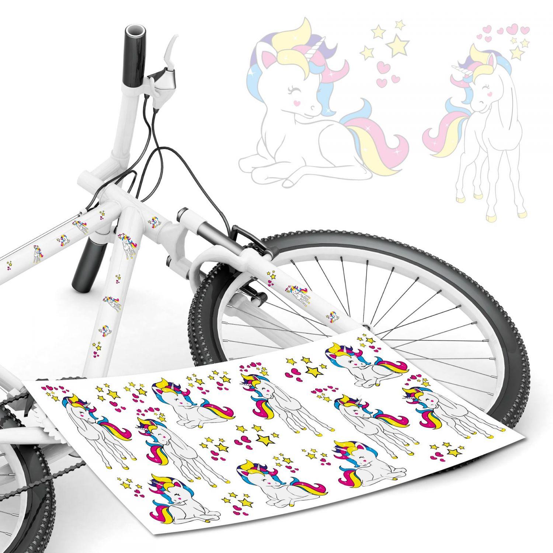 S S4B0177 style4Bike TOP Namensaufkleber 2er Set inkl Deutschland Flagge als Aufkleber Sticker Fahrrad Auto