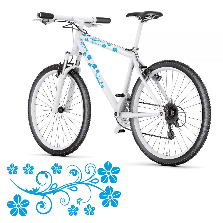 Reflektierende Fahrradaufkleber Reflex Aufkleber Kreise Fahrrad Aufkleber *TOP*