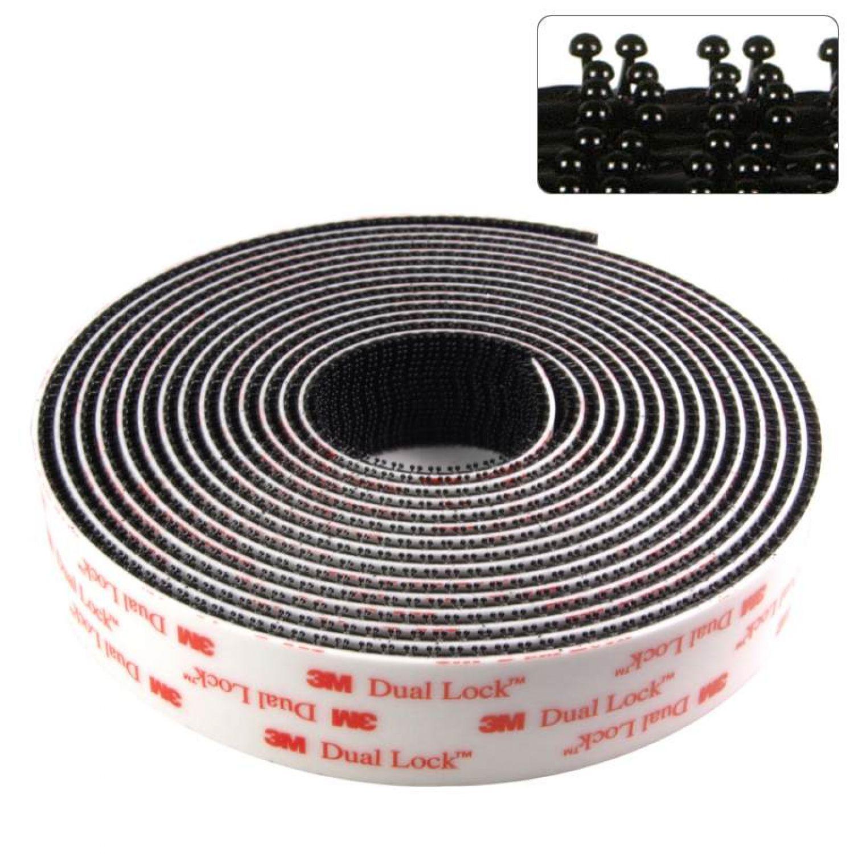 9 m 3m klettband klebeband klebepads dual lock druckverschluss auto sj3550 4m ebay. Black Bedroom Furniture Sets. Home Design Ideas