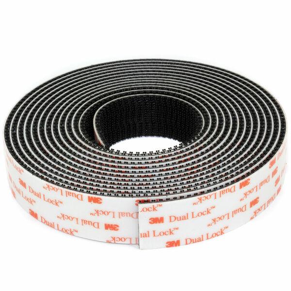 3M Klettband stark selbstklebend Dual Lock SJ3560 4m durchsichtig klar 4 Meter