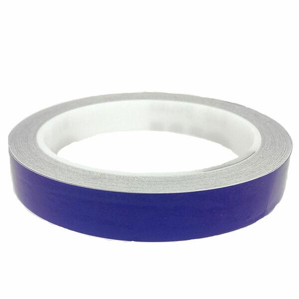 3M Reflektorband reflektierend selbstklebend Folie Reflexfolie Blau 15mm x 10m