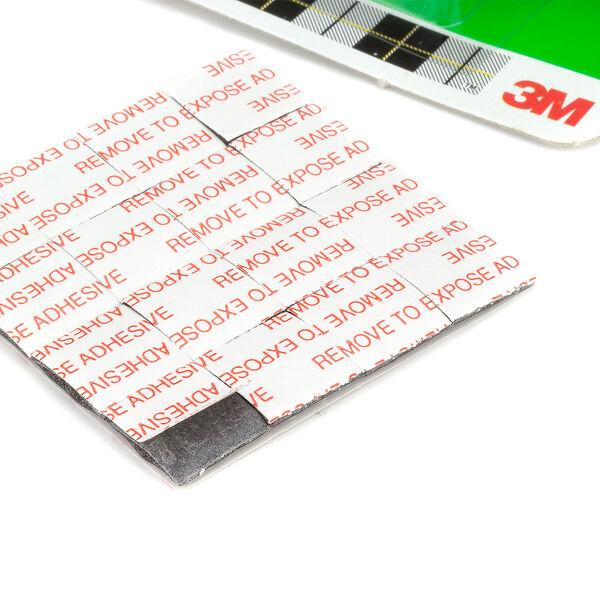 3M Scotch wieder ablösbare doppelseitige Klebepads Poster Fotos 12,7mm 64 Stück