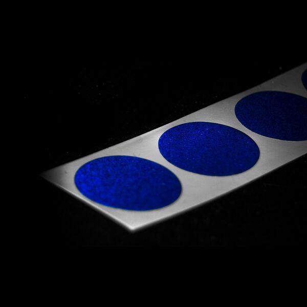 3M Reflektor Geocaching selbstklebend reflektierend Reflexfolie D20mm 4 Farben
