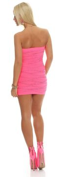 Regular//Plus Lady Bandeau Strapless Sequin Cocktail Party Club Mini Dress Tunic