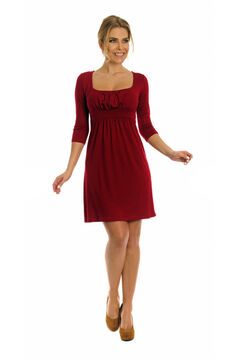 S M L XL 2XL 3XL Damen Kleid U-Ausschnitt Minikleid Casual Freizeitkleid