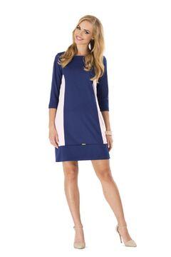 Mini-Kleid Sommer Tunika Kariert A-Form Gr 36 38 40 42 M195