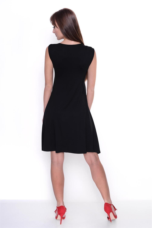 Kleid-A-Linie-MAMA-Knielang-mit-Raffungen-mit-Taschen-V-Ausschnitt Indexbild 31