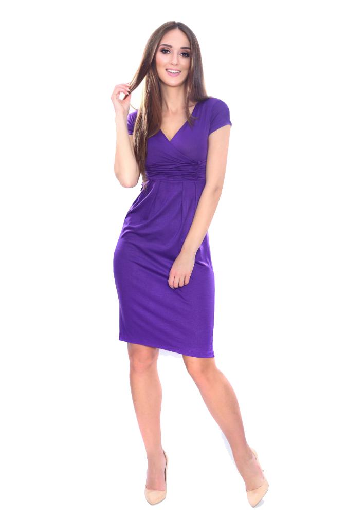 Kleid Elegant V-Ausschnitt Mini Kleid Gr. 36 38 40 42 44 ...