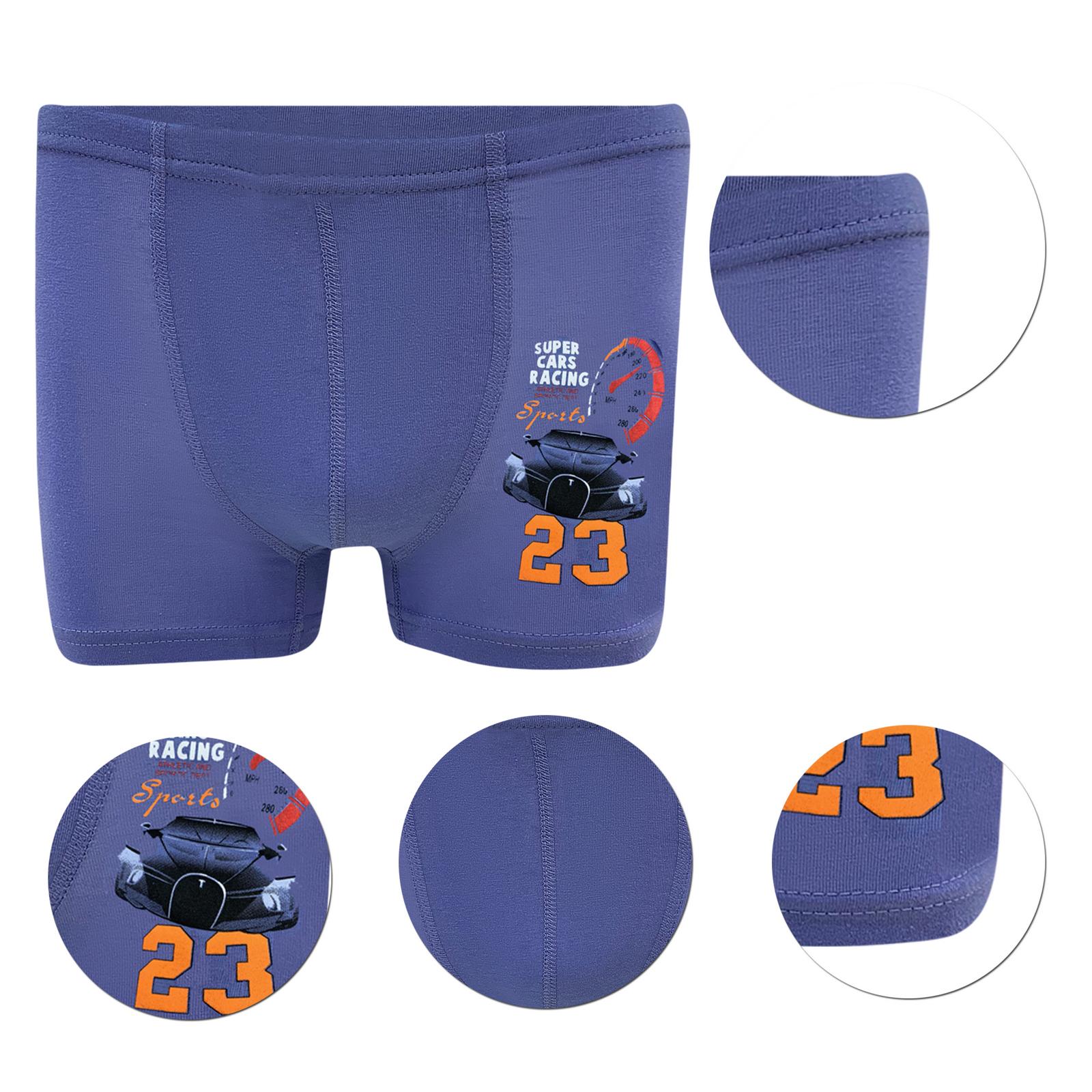 10-Jungen-Boxershorts-Baumwolle-Unterhose-Unterwaesche-Unterhosen-Slips-Slip Indexbild 8