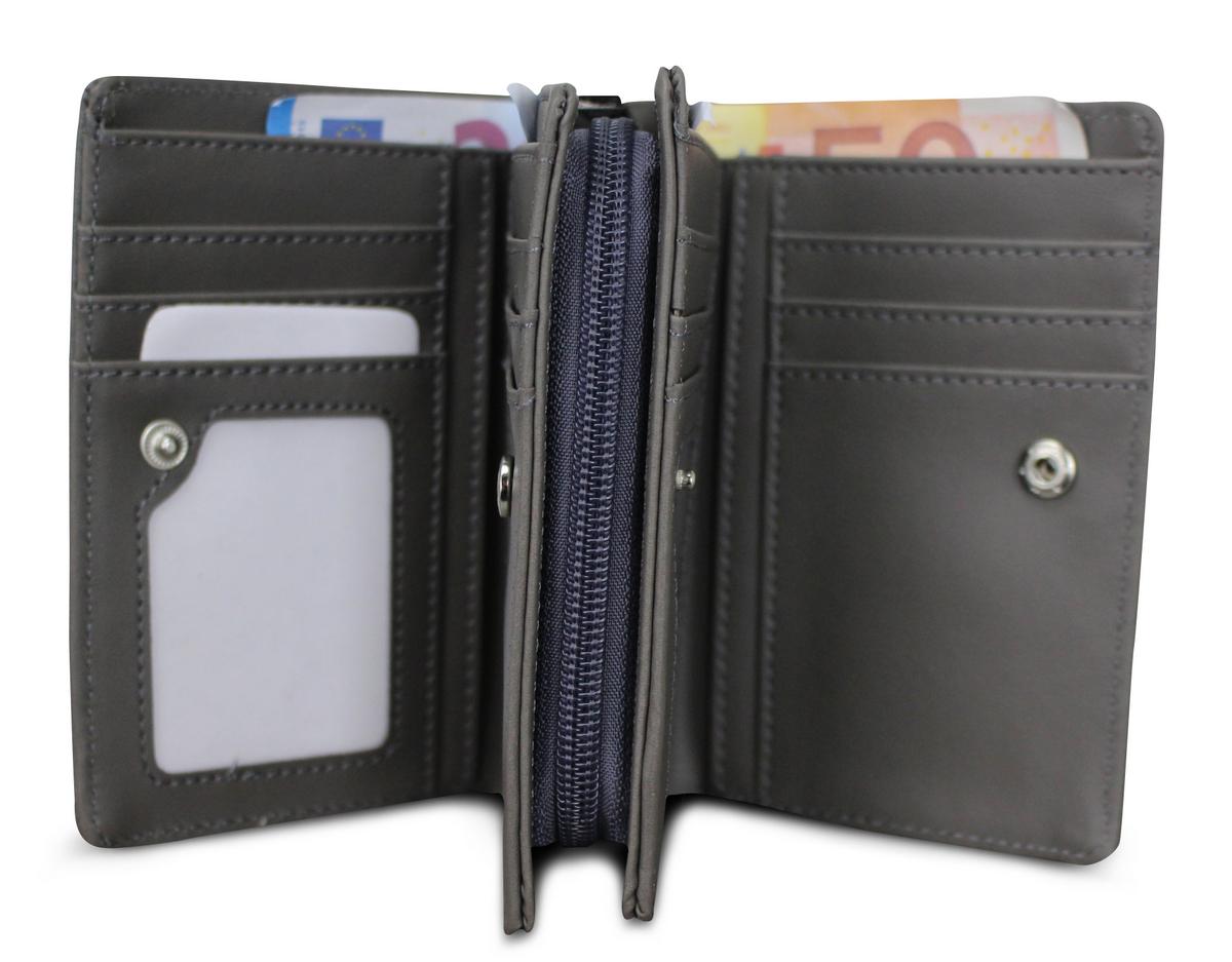 Damen Geldbörse Stern Geldbeutel Brieftasche Portemonnaie Damenbörse Börse