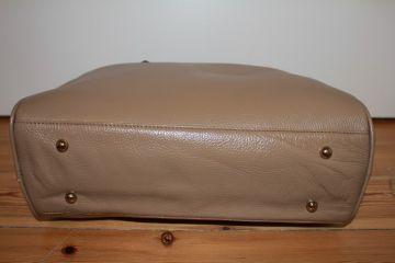 45b12a87ab7c7 Damen Tasche Schultertasche Handtasche Lederspäne Tasche Tuch Beige ...