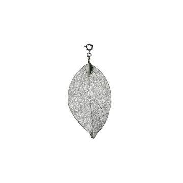 Buddha Bodhi Baum Blatt Edelstahl Farbe Silber Esoterik Schmuck ...