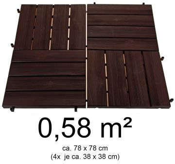 hochwertige terrassenplatten kunststoff holzoptik 0 58 m. Black Bedroom Furniture Sets. Home Design Ideas