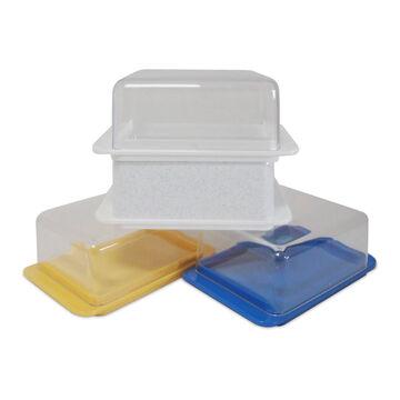 Butterdose mit Deckel aus Kunststoff Aufbewahrung Frischhaltung Butterglocke