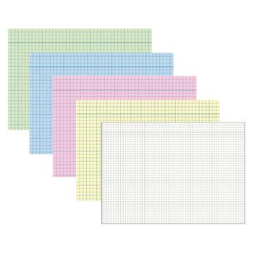 2er Pack Karteikarten DIN A4 quer blanko 2 x 100 Stück Lernkarte Mehrzweckkarte