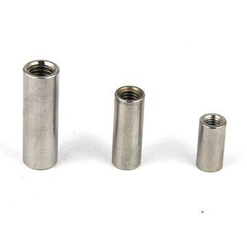Edelstahl A2 V2A 10 St/ück M12 x 40 mm Rundmuffe - Gewindemuffen rund rostfrei Eisenwaren2000