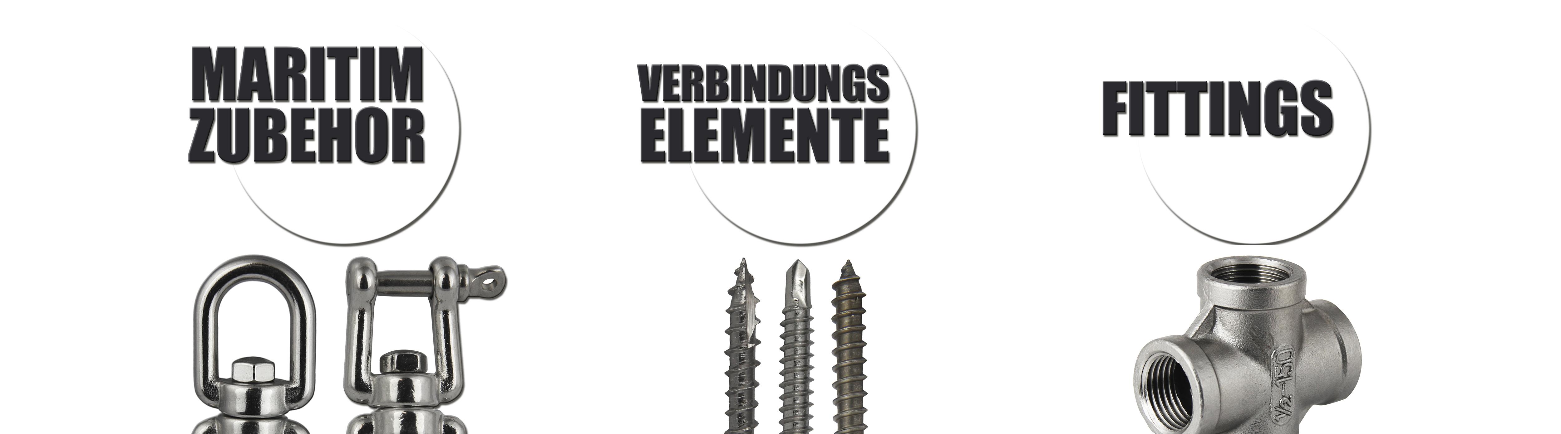 Holzschraube mit Ring 60mm 80mm Edelstahl A4 VA Ringschraube