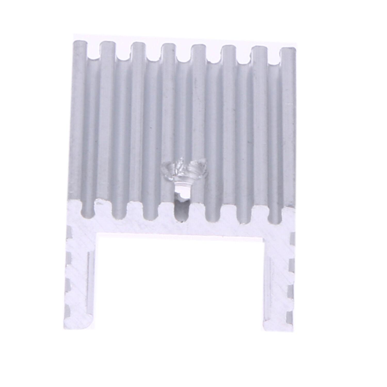 10 stücke Aluminium Kühlkörper Transistor Kühler für TCuu
