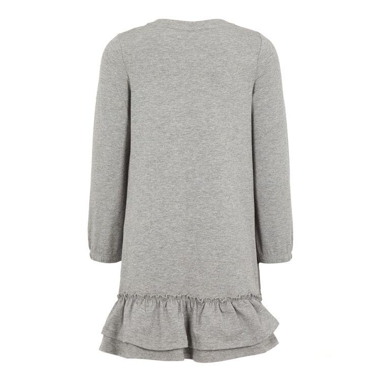 Kinder Mädchen Tunika Kleid Long Shirt Fest Kleid Langarm Kleid Herbst