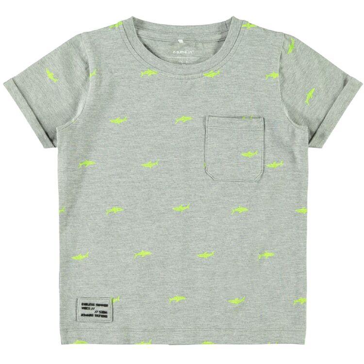NAME IT Baby-Jungen Longsleeve mit Print Bio-Baumwolle
