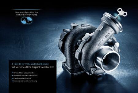 Mercedes-Benz Wasserpumpe A2742000800 W204//W205//W207//W212//W253 Tauschteil Orig