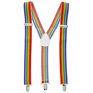 Hosenträger bunt Regenbogen Rainbow