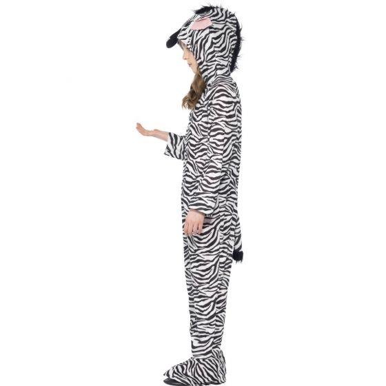 Kinderkostüm Zebra Zebrakostüm Kinder Overall Wildpferd Jumpsuit Gestreift Pferd