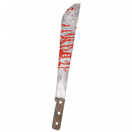 Halloween Blutige Machete Jason Busch-Messer mit Blutspritzern Schwert-Messer
