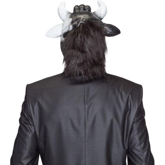 Tiermaske Mucca Maschera di Carnevale Cappello con Animali ... 7d91a2c5d957